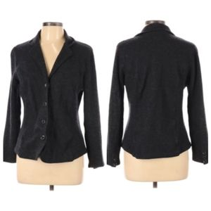 Jones New York Signature Wool Blend Button Jacket